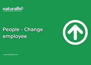 Change employee