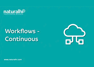 Continuous workflows